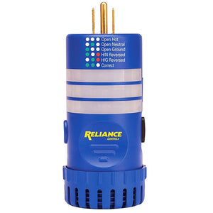 Reliance THP109 Durable Circuit Scout Analyzer and Breaker Locator