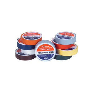 Freezr Flex TP2020-N 3/4'' x 60' UL Brown Electrical Tape (10 Pack)