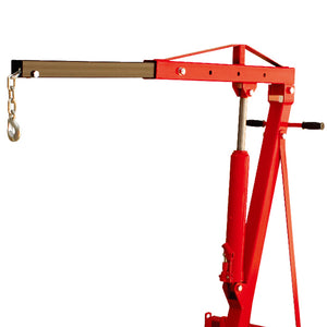 Torin Big Red T32001 2-Ton 1 - 78-3/4-Inch 6-Wheel Engine Hoist