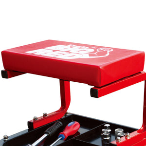 Torin Big Red TR6300 14-1/2 - 8-1/4-Inch Thick Vinyl Steel Construction Creeper Seat