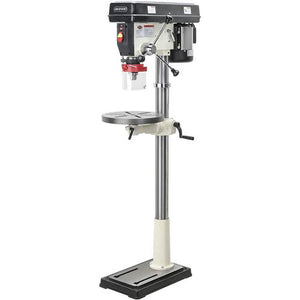 "Shop Fox W1680 1 H.P. 17"" Floor Model Drill Press 12 Speed with Mt #3 Spindle"