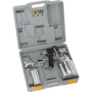 Shop Fox W1798 Conventional Feed Spray Gun Set with Protective Carrying Case