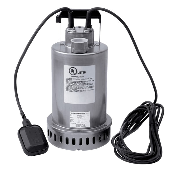 Honda WSP53 1/2-Hp 115-Volt 70-Gpm Submersible Water Pump with Top Discharge