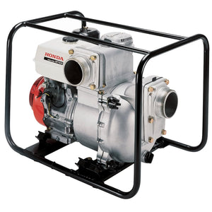 Honda WT40 337cc 4-Inch 433-Gpm Full Frame Isolation Mounted Trash Pump