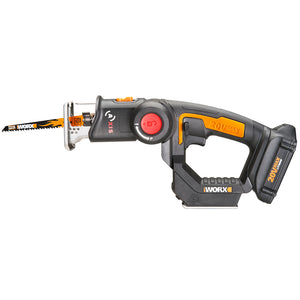 WORX WX550L 20-Volt 2-Piece Axis Lithium-Ion Cordless Reciprocating/Jigsaw Combo