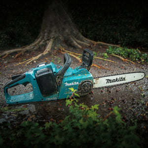 Makita X2 XCU03PT1 36-Volt LXT 14-Inch 5.0Ah Lithium-Ion Brushless Chainsaw Kit