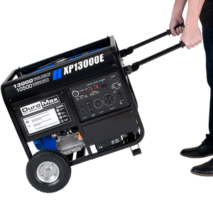 DuroMax XP13000E 13000 Watt Portable Gas Electric Start Generator