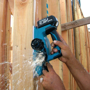 Makita XPK01Z 18-Volt 3-1/4-Inch Lithium Ion Wood Planer Plane, - Bare Tool