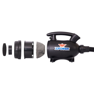 XPOWER A-5 100-Cfm 2-Hp 2-Speed Multi-Use Electric Duster/Air Pump