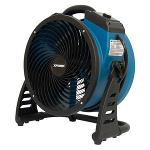 XPower P-26AR .6-Amp 1,300-Cfm 4-Speed Industrial Axial Air Mover/Dryer