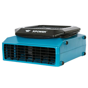 XPOWER XL-760AM 1150-Cfm 1/3-Hp 1-Speed Professional Low Profile Air Mover