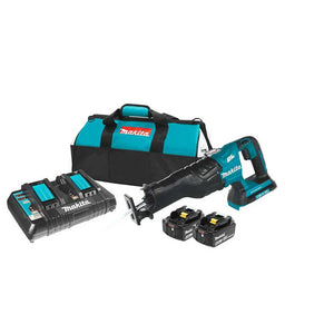 Makita XRJ06PT 36-Volt LXT 5.0Ah Lithium-Ion Brushless Reciprocating Saw Kit