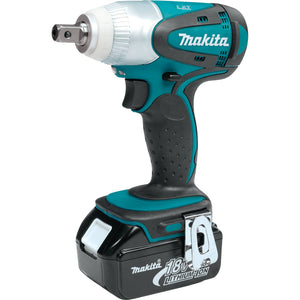 Makita XWT05 18-Volt 1/2-Inch 0-2,100 Rpm Lithium-Ion Cordless Impact Wrench Kit