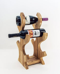 Wooden wine rack Wine holder Wood wine bottle holder Kitchen decor Kitchen accessories