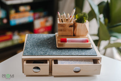 Desk Accessories, Organize Your Desk, Keep Your Office Supplies Tidy, Office Organizer, School Utensils in One Place, Gift for the Kid