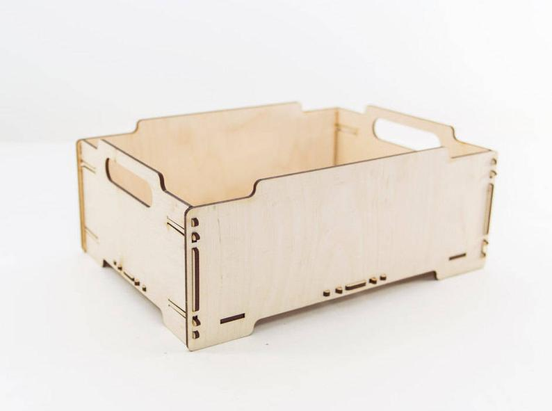 Wooden Crate Storage Box Wooden Box Wood Crate Toy Storage Wood Box Wooden Box