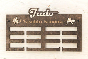 Medal Display, JUDO, Medal Rack, Medal Holder, Personalized Medal Hanger, Sports Gift