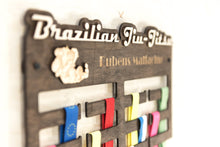 Load image into Gallery viewer, Medal display - Brazilian Jiu jitsu - Medal holder - Medal hanger - Medal rack - Sports medal hanger - Gift for teens - Medal holder gift