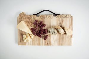 Cutting board - Wood cutting board -Rustic kitchen gift - Kitchen gift wife - Mother gift unique
