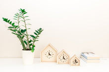 Load image into Gallery viewer, Desk Clocks - Set of 3 Clocks - Modern Clocks - Table Clocks - Wood Clocks - Wood Clock Gift