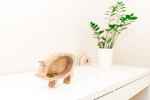 Load image into Gallery viewer, BIG piggy bank - Wooden money box - Collectible coin box - Kids money box - Housewarming gift