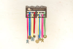 Medal rack - Sports medal hanger - Medal display - Brazilian Jiu jitsu - Medal holder - Medal hanger - Gift for teens - Medal rack gift