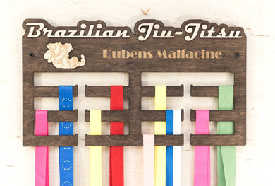 Medal display - Brazilian Jiu jitsu - Medal holder - Medal hanger - Medal rack - Sports medal hanger - Gift for teens - Medal holder gift
