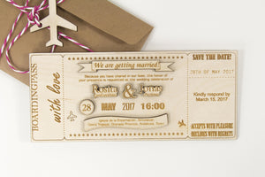 Laser Cut Wedding Invitations, 20pcs, SAVE THE DATE, Engraved Invitations,Custom Invites