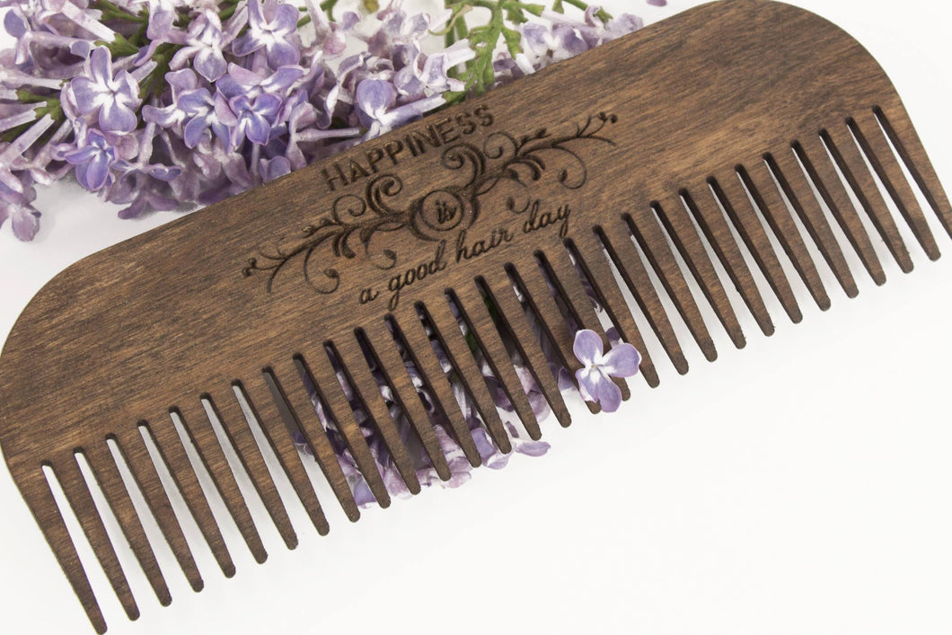 Wood Comb, Men Comb, Hair Brush For Men, Husband Gift Wood, Men Comb Gift, Hair rustic comb