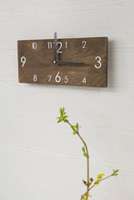 Load image into Gallery viewer, Modern wall clock - Wooden wall clock - Wall clock wood - Rustic wall clock - Silent wall clock - Wood clock - Large wall clock - Wall decor