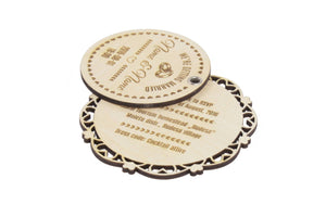 Laser Cut Wedding Invitation, 20pcs, Wedding Planning,Engraved Invitations, Rustic Invitations