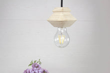 Load image into Gallery viewer, Modern ceiling lamp, Light fixture, Hanging light gift, Pendant light wood, Modern ceiling light