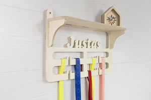 Medal hanger, Medal holder, Medal display, Trophy display, Sports medal hanger, Wooden Medal Hanger