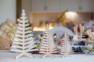 Small Christmas Tree, Mini Christmas Tree, Wooden Christmas Trees, Farmhouse Christmas Tree