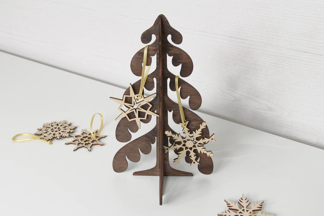 Wood Christmas Tree, Christmas Decorations Rustic, Farmhouse Christmas Decor