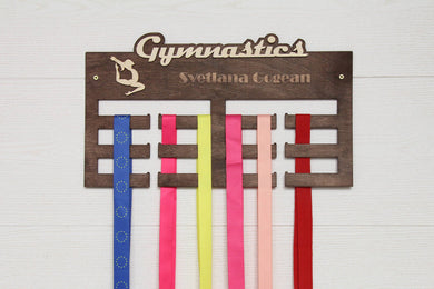 Medal holder, GYMNASTICS, Medal rack, Medal display, Medal hanger, Medal organizer