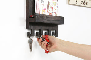 Mail And Key Holder, Key Rack, Key Holder For Wall, Wall Key Holder, Key Hook