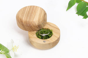 Wooden Ring Box, Wedding Ring Box, Engagement Ring Box, Rustic Ring Box, Proposal Ring Box