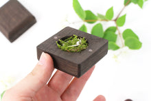 Load image into Gallery viewer, Proposal Ring Box, Engagement Ring Box, Wedding Ring Box, Ring Bearer Box, Wood Ring Box,