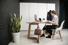 Load image into Gallery viewer, natural wood plywood desk for work