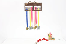 Load image into Gallery viewer, Snooker medal hangers Personalized medal hanger Medal display