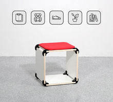 Load image into Gallery viewer, playwood connector wooden connectors promidesign design connect create shelves furniture living room garden children