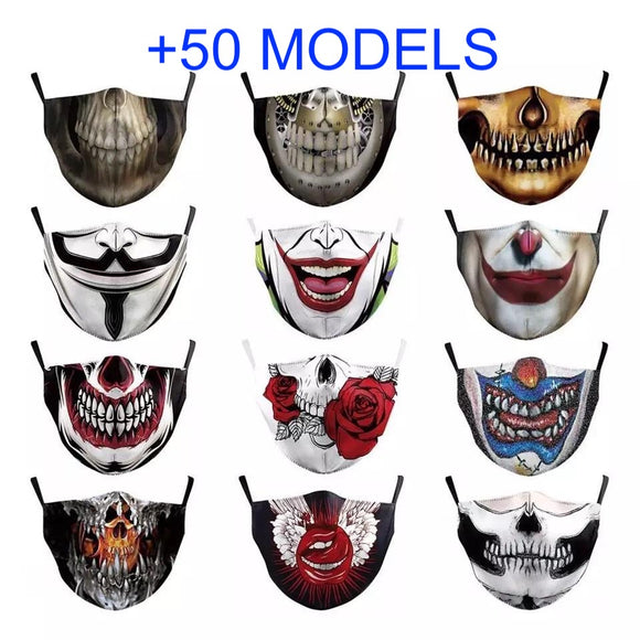 COVID Mask Cover Cache Fashion Style