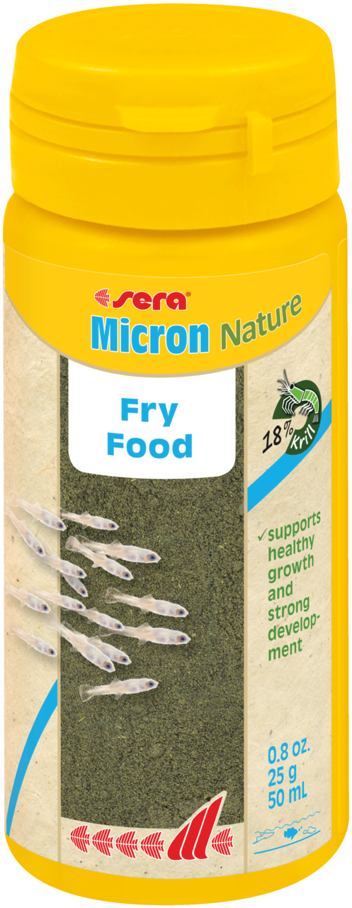 Sera Micron Nature -Baby Growth Food