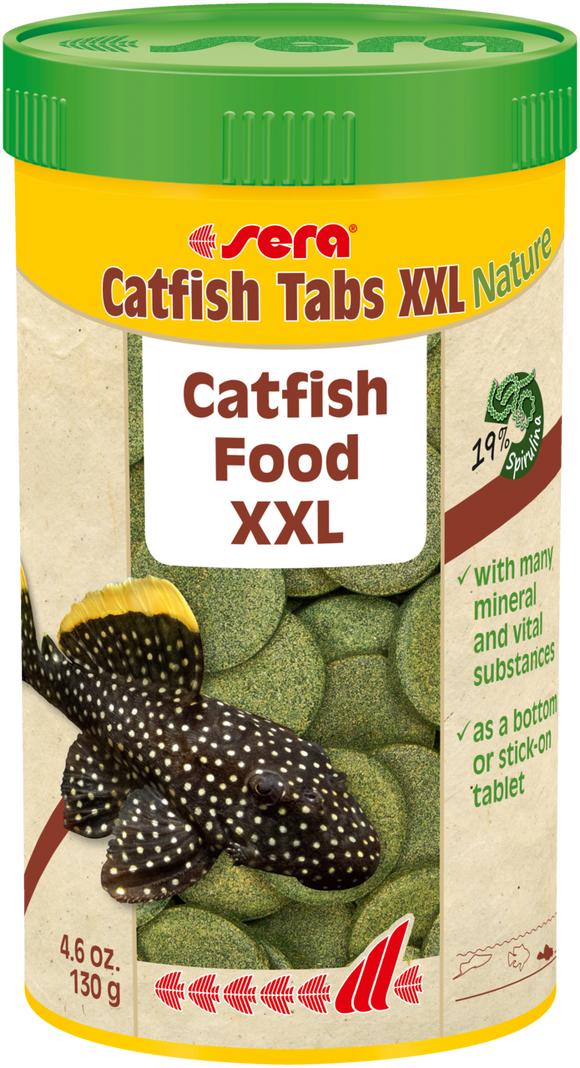 Sera Catfish Tabs XXL Nature