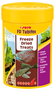 Sera FD Tubifex Freeze Dried Treats
