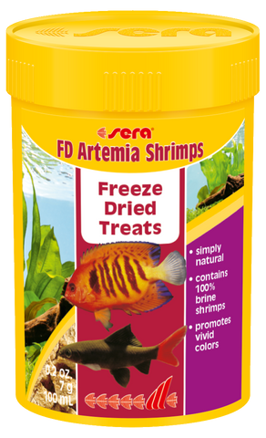 Sera FD Artemia Shrimps Freeze Dried Treats