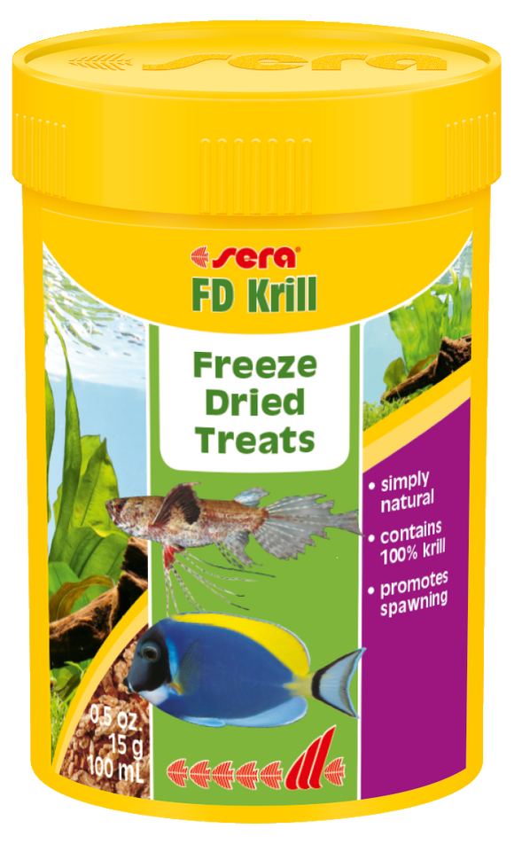 Sera FD Krill Freeze Dried Treats