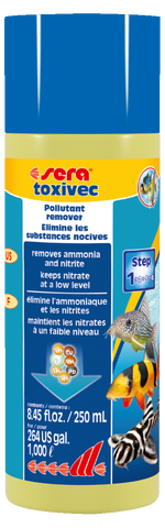 Sera Toxivec 250mls - Aquarium First Aid