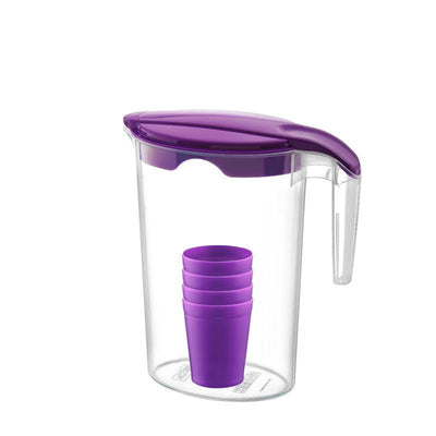 Juice Pitcher and 4 Cups